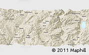 Shaded Relief Panoramic Map of Heqing