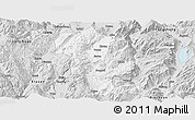 Silver Style Panoramic Map of Heqing