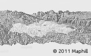 Gray Panoramic Map of Honghe