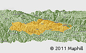 Savanna Style Panoramic Map of Honghe