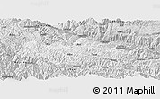 Silver Style Panoramic Map of Honghe