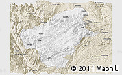 Classic Style Panoramic Map of Huize