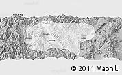 Gray Panoramic Map of Jianchuan