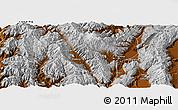 Physical Panoramic Map of Jianchuan