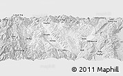 Silver Style Panoramic Map of Jianchuan