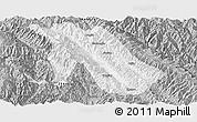 Gray Panoramic Map of Jingdong