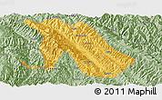 Savanna Style Panoramic Map of Jingdong