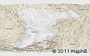 Classic Style Panoramic Map of Jinghong