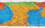 Political Panoramic Map of Jinghong