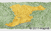 Savanna Style Panoramic Map of Jinghong
