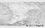 Silver Style Panoramic Map of Jinghong