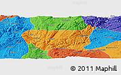 Political Panoramic Map of Kaiyuan Shi