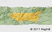 Savanna Style Panoramic Map of Kaiyuan Shi
