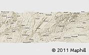 Shaded Relief Panoramic Map of Kaiyuan Shi