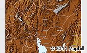 Physical Map of Kuenming Shiqu