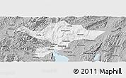 Gray Panoramic Map of Kuenming Shiqu