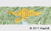Savanna Style Panoramic Map of Kuenming Shiqu