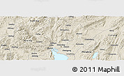 Shaded Relief Panoramic Map of Kuenming Shiqu