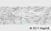 Silver Style Panoramic Map of Kuenming Shiqu
