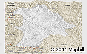 Classic Style Panoramic Map of Lancang