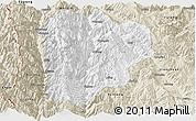 Classic Style Panoramic Map of Lanping