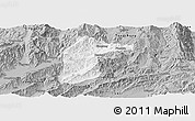 Gray Panoramic Map of Lianghe