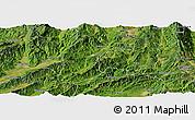 Satellite Panoramic Map of Lianghe