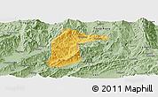 Savanna Style Panoramic Map of Lianghe