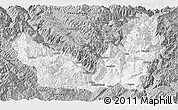 Gray Panoramic Map of Lijiang
