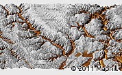 Physical Panoramic Map of Lijiang
