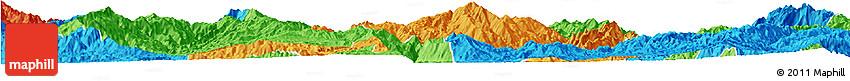 Political Horizon Map of Lincang
