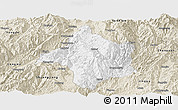 Classic Style Panoramic Map of Lincang