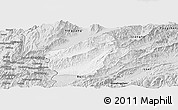 Silver Style Panoramic Map of Longchuan