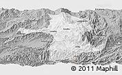 Gray Panoramic Map of Longling