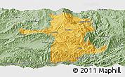Savanna Style Panoramic Map of Longling