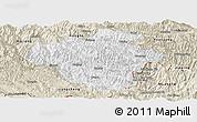 Classic Style Panoramic Map of Luchun