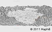 Gray Panoramic Map of Luchun