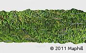 Satellite Panoramic Map of Luchun