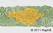 Savanna Style Panoramic Map of Luchun