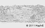 Silver Style Panoramic Map of Luchun