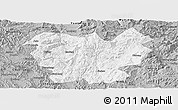 Gray Panoramic Map of Lufeng