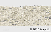 Shaded Relief Panoramic Map of Lufeng