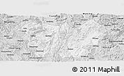 Silver Style Panoramic Map of Lufeng