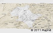 Classic Style Panoramic Map of Luoping