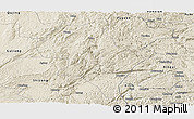 Shaded Relief Panoramic Map of Luoping