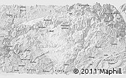 Silver Style Panoramic Map of Luquan