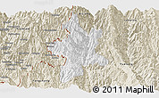 Classic Style Panoramic Map of Lushui