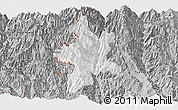 Gray Panoramic Map of Lushui