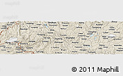 Classic Style Panoramic Map of Luxi