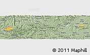 Savanna Style Panoramic Map of Luxi